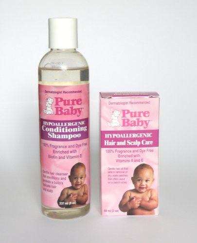 Buy Cradle Cap Shampoo Get 2 Cradle Cap Oil With Vitamins by Pure Baby For £9.99 Save £14.98
