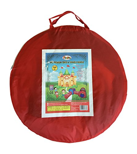 Home / Shop / Kidsu0027 Furniture And Room Décor / Tents And Tunnels  sc 1 st  Epic Kids Toys & 4pc Pop Up Children Play Tent w/ 2 Crawl Tunnel u0026 2 Tents - Kids ...