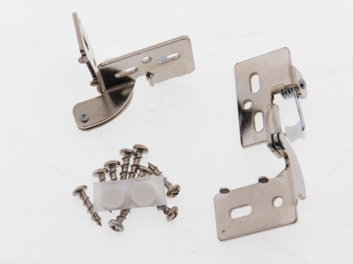 2 Self Closing Hidden Concealed Cabinet Hinge 1/2