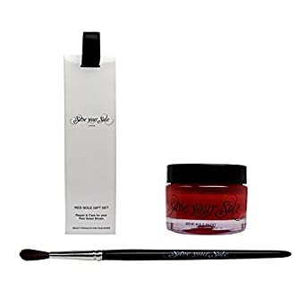 Amazon.com: Save Your Sole Red Sole Care \u0026amp; Repair Set -Perfect for ...