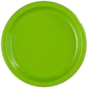 Lime Green Dinner Plates (24 count)