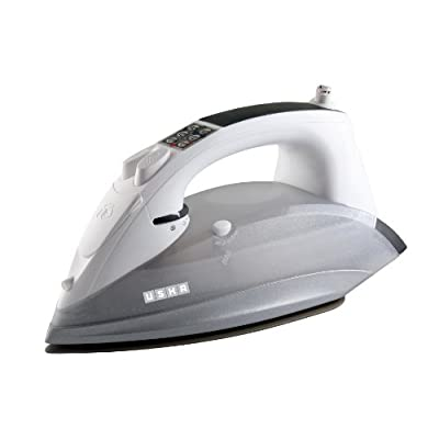 Usha Techne 4000 2400-Watt Steam Iron (White and Grey)