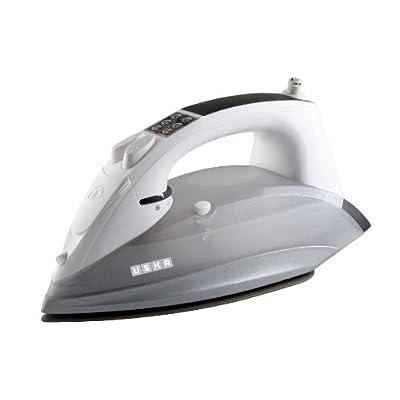 Usha Techne 4000 2400-Watt Steam Iron (White and Grey)