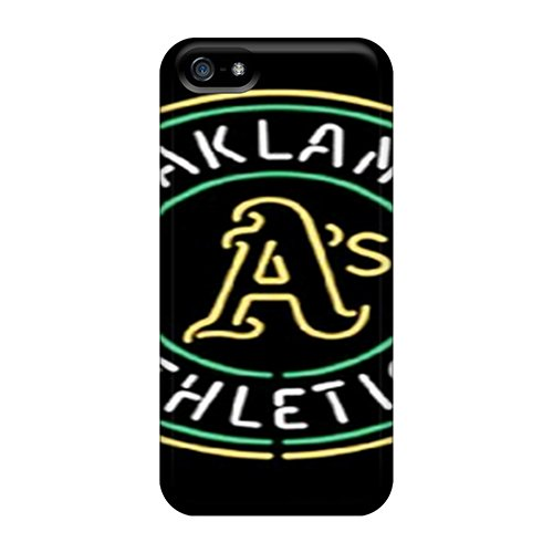 Cute Appearance Cover/Tpu Gkd4131Loug Oakland Athletics Case For Iphone 5/5S