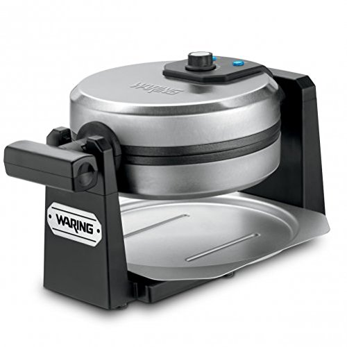Waring Pro WMK200 Belgian Waffle Maker, Stainless Steel/Black (Certified Refurbished) (Waring Waffle Maker Wmk200 compare prices)