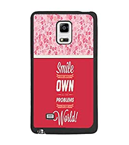 PrintDhaba Quote D-3292 Back Case Cover for SAMSUNG GALAXY NOTE 4 EDGE (Multi-Coloured)