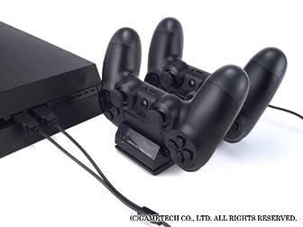 PS4用コントローラ充電スタンド『コントローラ充電スタンド4』