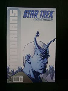 Star Trek Alien Spotlight: Andorians One-Shot Cover A by Howard by Paul D. Storrie and Leonard O'Grady