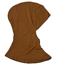 Imported Muslim Full Cover Hijab Cap Islamic Underscarf Graceful Neck Head Hat Camel