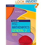 Cambridge HSC Mathematics General 2