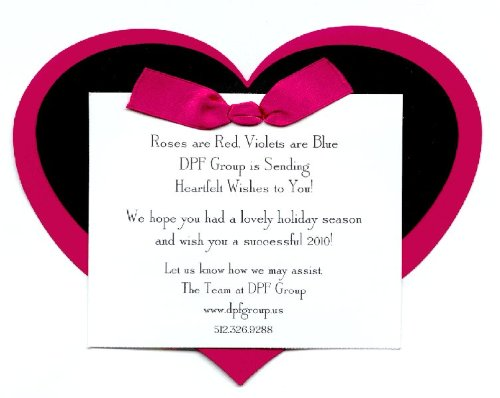 Heart Invitation, Pack Of 10 front-428398