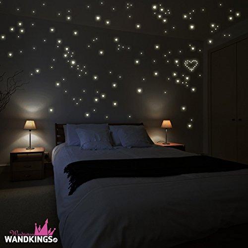 sticker-da-muro-wandkings-250-cuori-per-un-cielo-stellato-fluorescenti-e-brillanti-al-buio