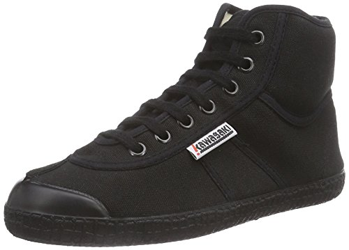 Kawasaki Rainbow basic, Sneaker alta Unisex - adulto, Nero (Black, 60), 41