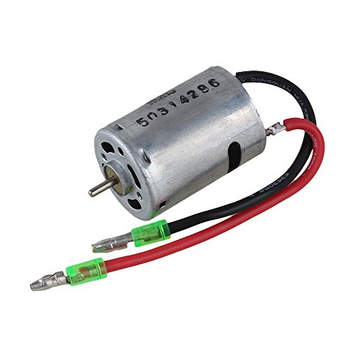 Mxfans 28006 Silver Iron Brushed Electric Engine Motor with 380 High Speed for HSP RC1:16 Model Trucks (Rc 380 Motors Brushed compare prices)
