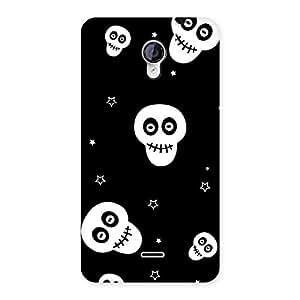 Premium Skull Star Back Case Cover for Micromax Unite 2 A106