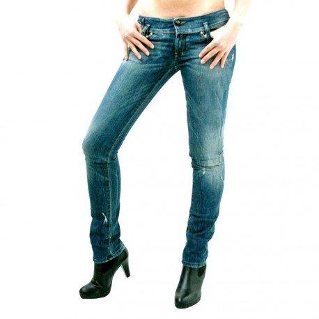 Diesel -  Jeans  - Attillata  - Donna blu 25W x 34L