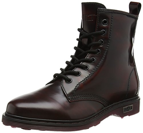 Cult Sabbath Mid 420 Brushed Leath., Stivali, Donna, Rosso (Red), 39
