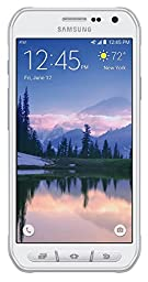 Samsung Galaxy S6 Active G890A 32GB Unlocked GSM 4G LTE Octa-Core Smartphone w/ 16MP Camera - Camo White (Certified Refurbished)