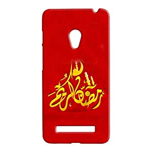 100 Degree Celsius Back Cover for Asus Zenfone 5 (Spritual Printed Multicolor)