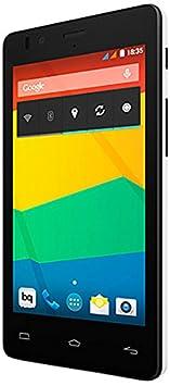 BQ Aquaris E4 Smartphone débloqué (4 pouces - 8 Go) Blanc (import Espagne)