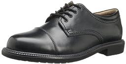 Dockers Men\'s Gordon Cap Toe Oxford,Black,10.5 M US