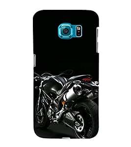 EPICCASE black beauty Mobile Back Case Cover For Samsung Galaxy S6 Edge Plus (Designer Case)