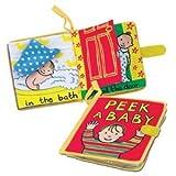 Jellycat My Peek A Baby Soft Book – 6″, Baby & Kids Zone