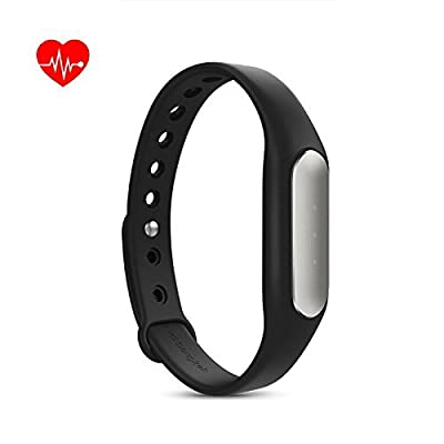 Xiaomi Mi Band 1S Heart Rate Monitor Smart Miband 2 Wristband Bracelet Fitness Wearable Tracker Smartband Black Color