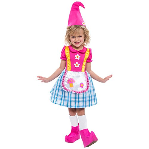 Gnome Girl Toddler Child Costume (Gnome Girl Costume For Toddlers)
