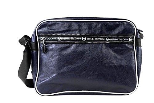 Cartella borsa uomo SERGIO TACCHINI blu messanger con tracolla F437