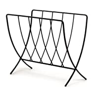 Spectrum 37210 Seville Magazine Rack, Black