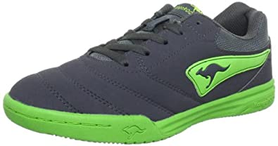 KangaROOS Artus-Combo-Kids 1294A, Jungen Sneaker, Grau (charcoal/lime 208), EU 34