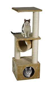 Karlie 34673 Viola Cat Scratching Post 35 x 35 x 103 cm Brown