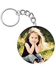 Cute Baby Girl | ShopTwiz Circle Printed Key Rings