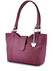 Butterflies Stylish Handbag (Purple) (BNS 0298 PPL)