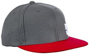 DC Shoes Herren Cap Radical M Hat, Monument/red, S/M, 53300111-XSSR