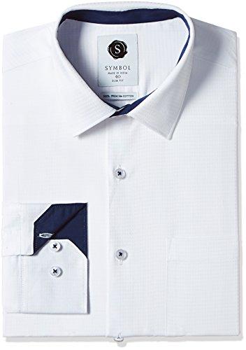 Symbol-Mens-Formal-Premium-Dobby-Slim-Fit-Shirt
