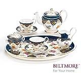 Vanderbilt Porcelain Miniature Teaset Designed From Biltmore House 1888 Sevres Tea Set