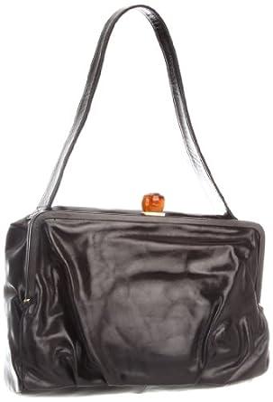(1.9折)Hobo 100%顶级头层皮女士肩包Nadia VI-35449BLK Shoulder Bag $48.52, Mocha