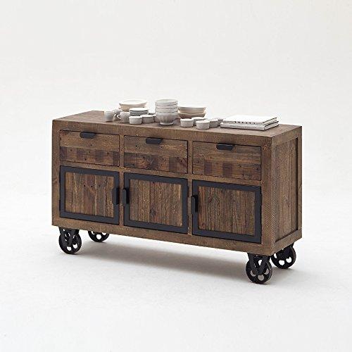 kommode vintage auf rollen inspirierendes design f r wohnm bel. Black Bedroom Furniture Sets. Home Design Ideas