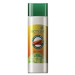Biotique Bio Carrot Face & Body Sun Lotion Spf 40 Uva/Uvb Sunscreen For All Skin Types In The Sun, 120Ml