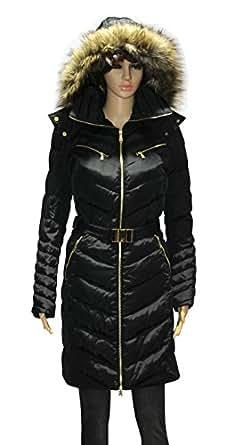 MICHAEL Michael Kors women's Faux Fur Hood Belted Down