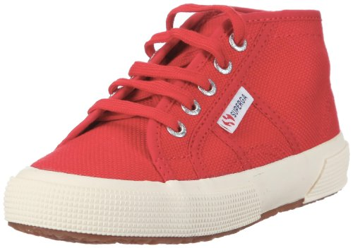 Superga - 2754- Jcot Classic, Sneakers per bambini, 975 Red 975, 31