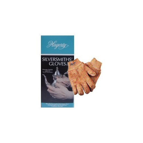 Hagerty 15010 Silversmiths' Gloves 1 Pair, Medium