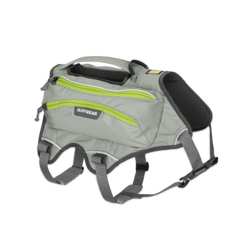 Ruffwear - Singletrak Low-Profile Hydration Pack for Dogs, Cloudburst Gray, Small (Dog Water Harness compare prices)