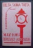 img - for 1953 Program Delta Sigma Theta Sorority Presents Jabberwock Roosevelt Auditorium, San Diego book / textbook / text book