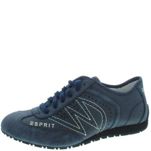 Esprit International Damen Sneaker in navy blau mit Keilabsatz , Schuhgröße:EUR 41