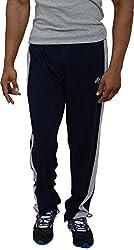 NNN Mens Cotton Sports Track Pant (Navy Blue, XXXXL)