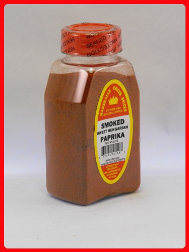 SMOKED HUNGARIAN SWEET PAPRIKA PACKED IN LARGE JARS, spices, herbs, seasonings
