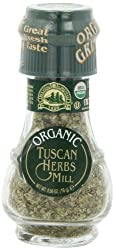 Drogheria & Alimentari All Natural Spice Grinder Tuscan Herbs, 0.56 Ounce Jars (Pack of 3)